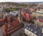 Video mapping lęborskiego ratusza