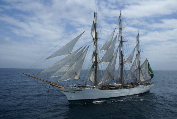 Cisne Branco płynie do Gdyni
