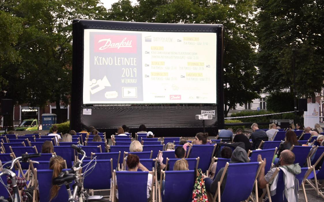 Pokazy kino letnie repertuar w Lęborku