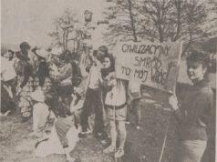 Eko protesty to nie tylko domena Grety Thumberg. Wiele lat temu też się działo, także w Lęborku...